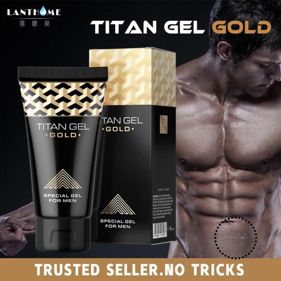 Titan Gel Miraculous Gel To Enlarge The Penis Titan Gold Hombres