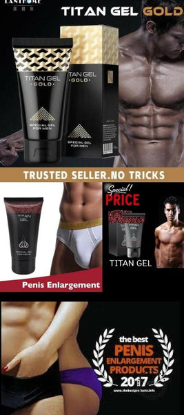 Titan Gel Miraculous Gel To Enlarge The Penis Hombres