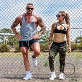 Tops Gyms Clothing Bodybuilding Deporte