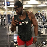 Vest Bodybuilding Clothing And Fitness Men Undershirt Tank Tops Golds Accesorios