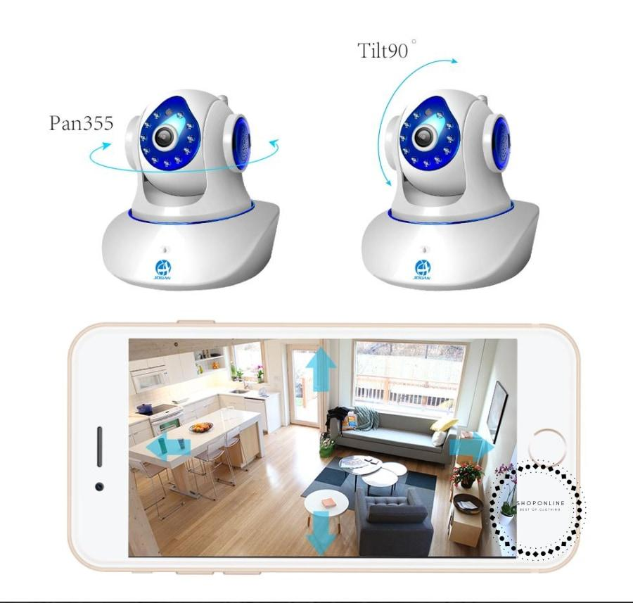 Wireless Ip Camera 720P Hd Smart Home Baby Monitor Accesorios