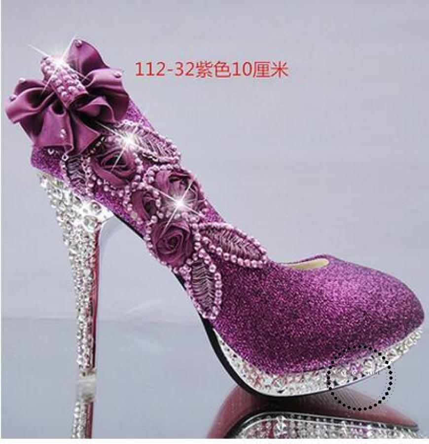 Women Shoes Purple 10Cm / 4 Accesorios