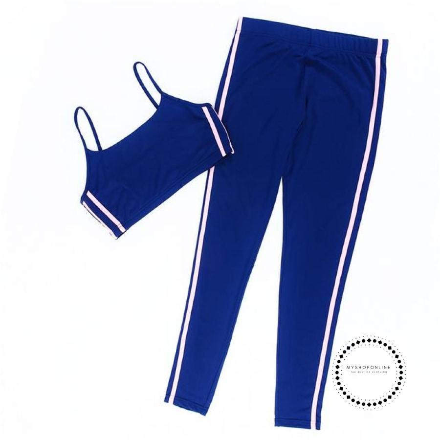 Women Sports Suit Fitness Clothing Gym Tracksuit Female Running Yoga Set