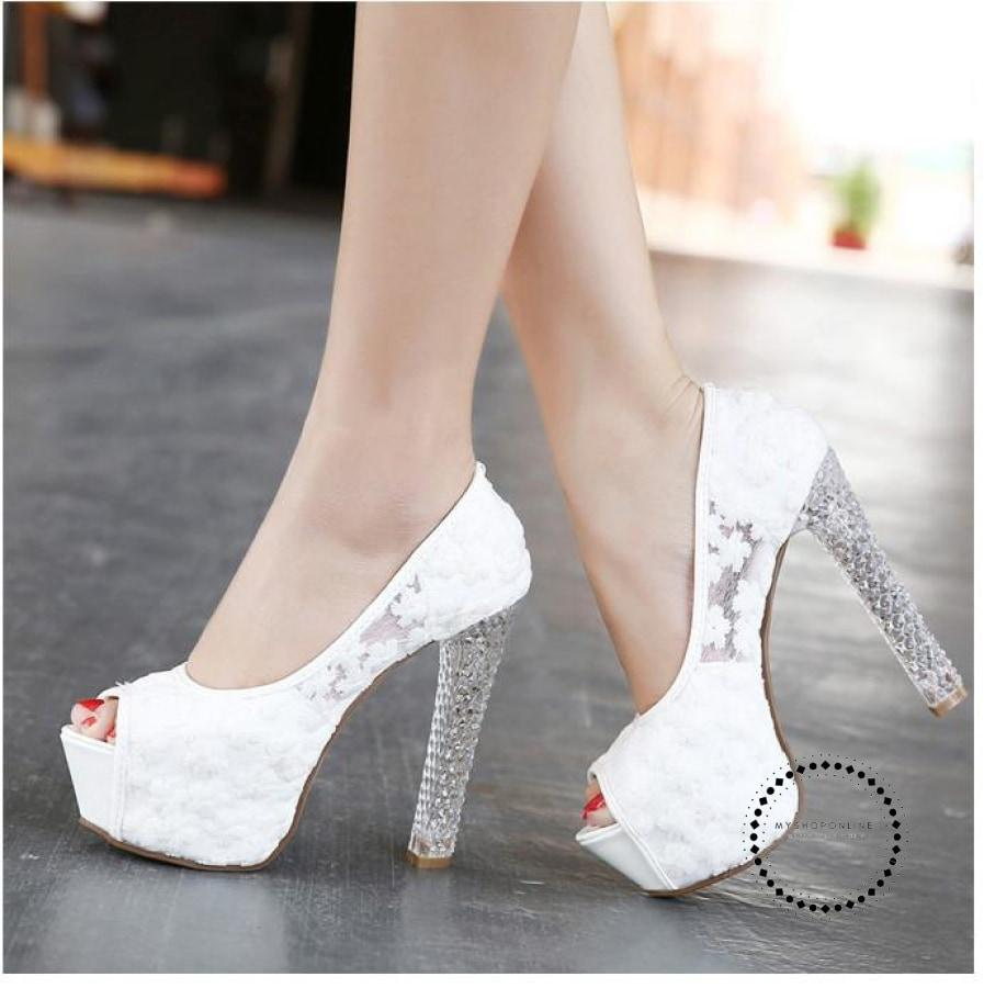 Womens Shoes Crystal Accesorios