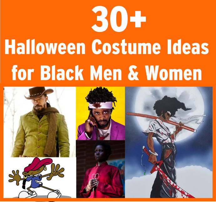 30+ Halloween Costume Ideas for Black Men & Black Women