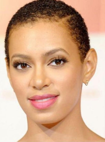natural short hairstyles for bald black women haircut