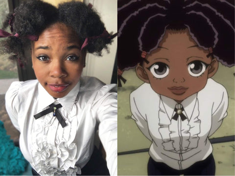 canary hunter x hunter halloween costume for black girls