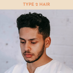 type 2 hair men. how to get waves