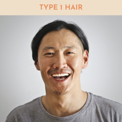 type 1 hair men. how to get 360 waves