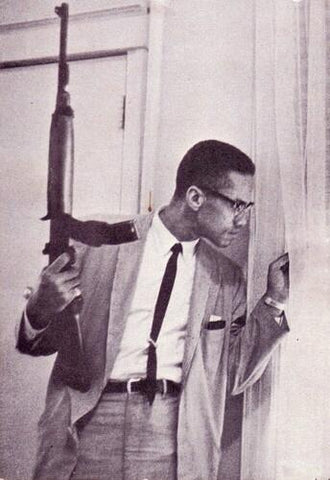 malcolm x costume for black men