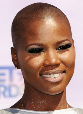 bald haircut style ideas for black women