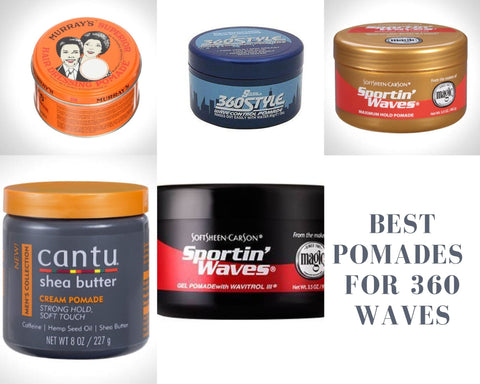 best pomade for 360 waves. how to get deep 360 waves