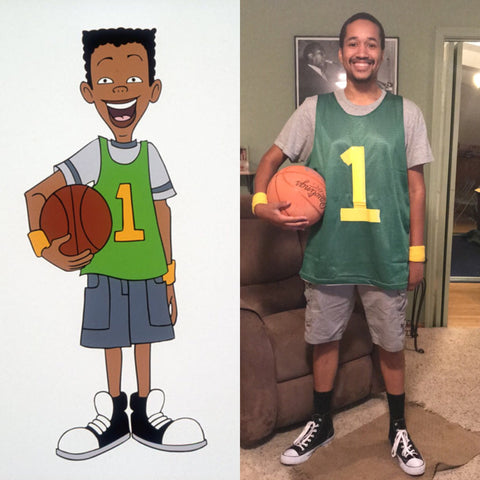 vince from recess halloween costume