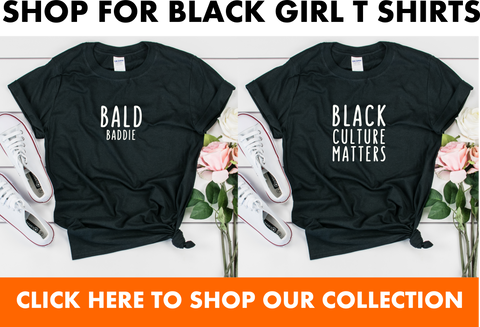 shop for black girl t shirts