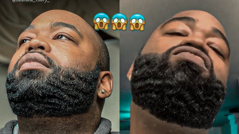 how to get waves on beard