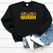 Load image into Gallery viewer, Melanin Queen Unisex Sweatshirt - My Black Clothing