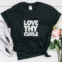 Load image into Gallery viewer, Love Thy Curls Women's T-shirt - My Black Clothing