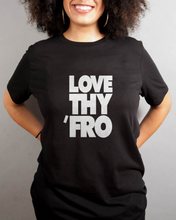 Load image into Gallery viewer, Love Thy Fro - Women's T-shirt - My Black Clothing