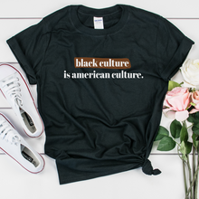 Load image into Gallery viewer, black culture black pride t shirt.