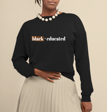 Load image into Gallery viewer, black and educated. back to school shopping for hbcus. when does hbcu start. black owned.
