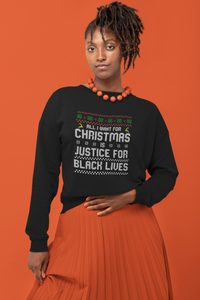 black owned ugly christmas sweater