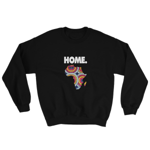 Home is Africa Unisex Sweatshirt - My Black Clothing