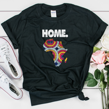 Load image into Gallery viewer, Home is Africa - Unisex T-Shirt - My Black Clothing