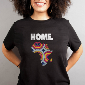 Home is Africa - Unisex T-Shirt - My Black Clothing