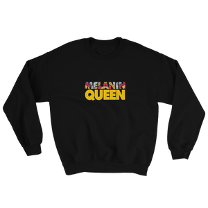 Melanin Queen Unisex Sweatshirt - My Black Clothing