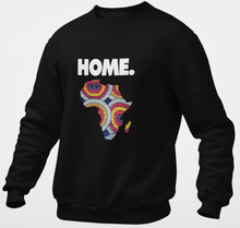 Load image into Gallery viewer, Home is Africa Unisex Sweatshirt - My Black Clothing