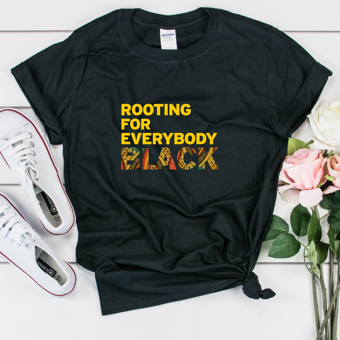 i am rooting for everybody black shirt - issa rae insecure shirt