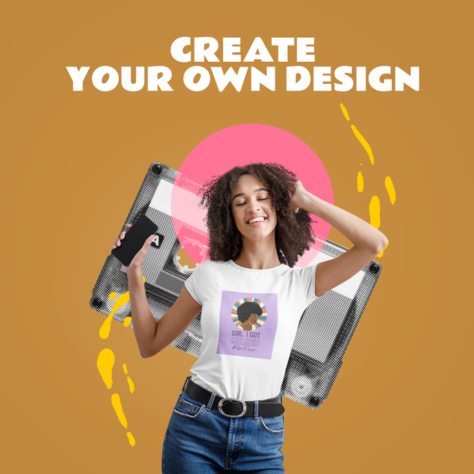 Create Your Own Design for Your T-Shirt Brand