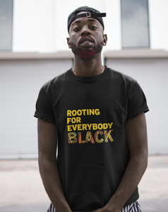 rooting for everybody black shirt. issa rae. black owned shirt. black lives matter. blm shirts
