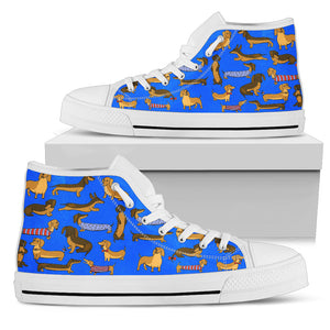 Doggos High Top Women's Sneakers