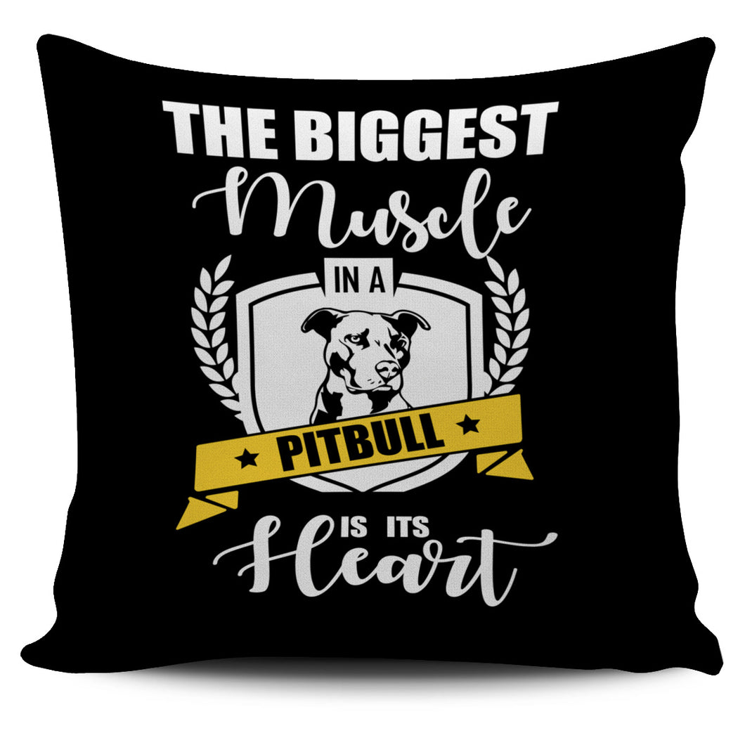Pit Bull Pillow Cover