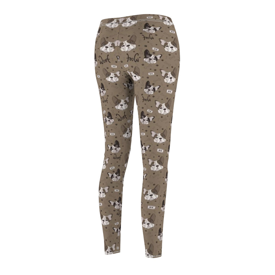 Women's French Bulldog Print Leggings