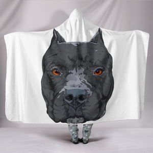 Pit Bull Hooded Blanket
