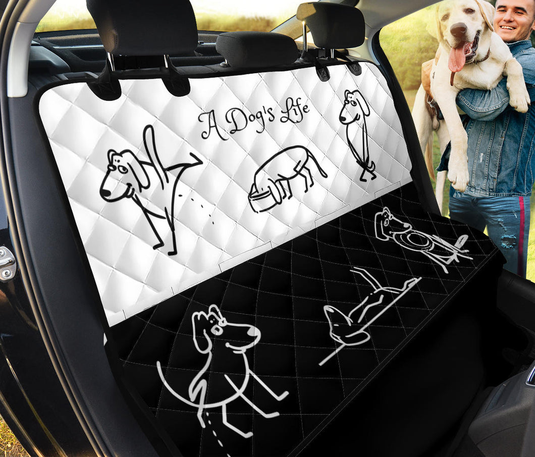 A Dog's Life Pet Seat Cover