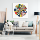 Circle Of Dogs Canvas Wall Art