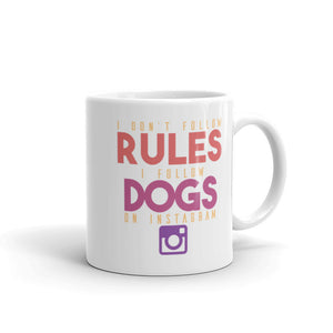 Instagram Dogs Mug - 11 Ounces