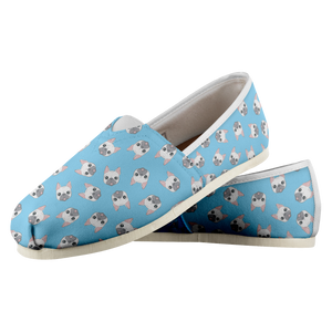 Blue Pug Shoes