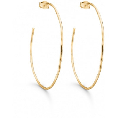 HOOPS, SIMPLE  Gold