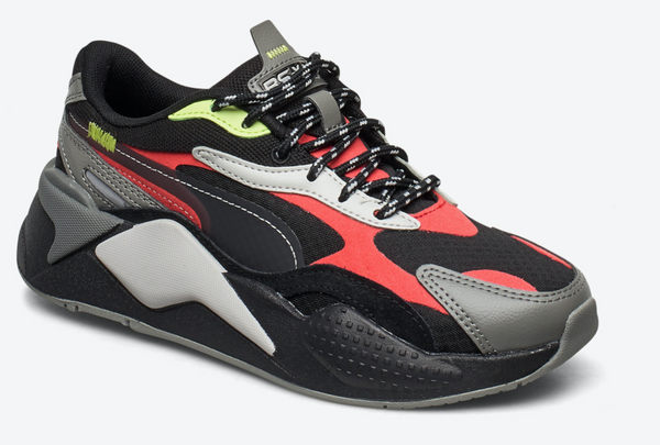 RS-X CITY ATTACK JR  Blk/Red