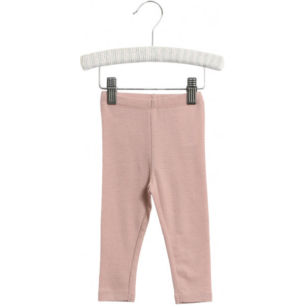 WOOL LEGGINGS  Rose Powder