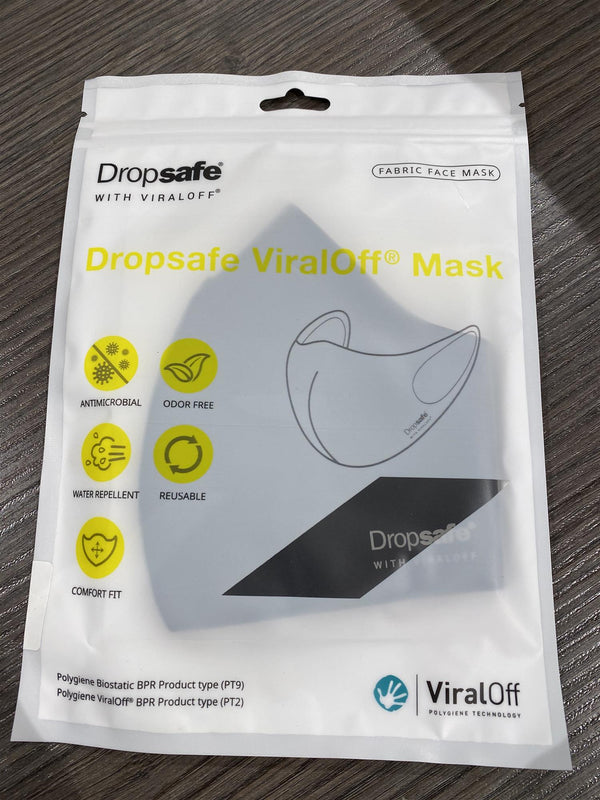 DROPSAFE VIRALOFF MASK  Black