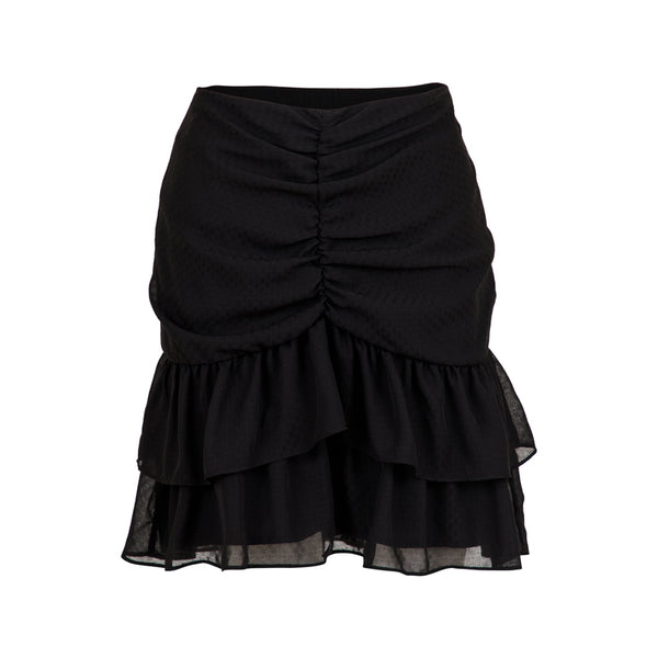 DAISIE SOLID SKIRT  Black