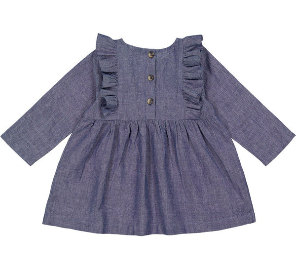 DIKTE DRESS  Denim Blue