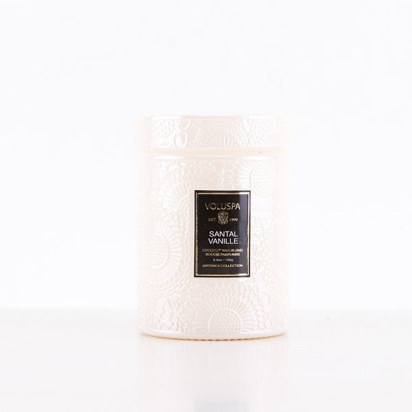 SMALL JAR CANDLE  Santal Vanille