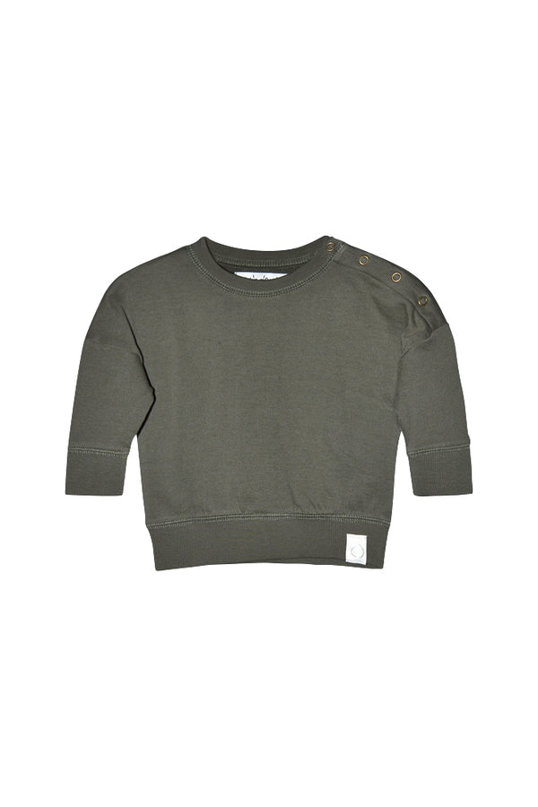 BLAKE SWEATER ORGANIC  Dark Green
