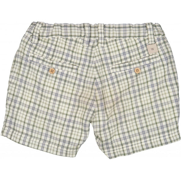 SHORTS ELVIG  Eggshell Check
